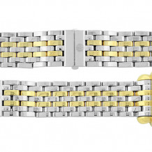 MICHELE Deco XL Yellow Gold Stainless Steel Link Bracelet - MS20CV285048