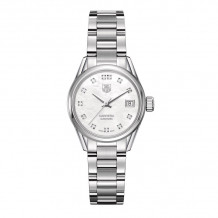 TAG Heuer Carrera Calibre 9 Automatic Steel 28mm Women's Watch - WAR2414.BA0776