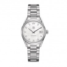 TAG Heuer Carrera Quartz Steel 32mm Women's Watch - WAR1314.BA0778