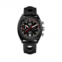 TAG Heuer Monza Calibre 17 Automatic Black Titanium 42mm Watch - CR2080.FC6375