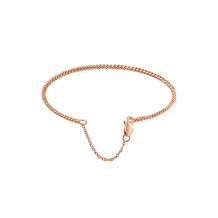Gabriel & Co. 14k Rose Gold Twisted Rope Styled Diamond Bangle Bracelet - BG4088-8K4JJJ