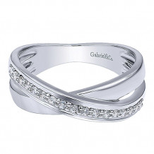 14k White Gold Gabriel & Co. Diamond Fashion Ring - LR4261W44JJJ