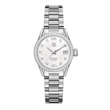 TAG Heuer Carrera Calibre 9 Automatic Steel 28mm Women's Watch - WAR2415.BA0776