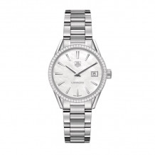 TAG Heuer Carrera Quartz Steel 32mm Women's Watch - WAR1315.BA0778