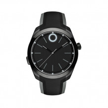 Movado Bold Black PVD-Finished Stainless Steel Men's Motion Smart Watch With Bluetooth