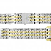 MICHELE CSX Yellow Gold Stainless Steel Link Bracelet - MS18AT285048