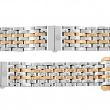 MICHELE Deco Rose Gold Stainless Steel Link Bracelet - MS18AU315750