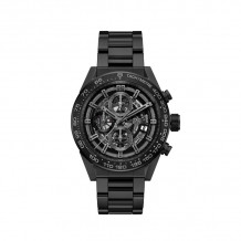 TAG Heuer Carrera Calibre Heuer 01 Automatic Steel & Black Ceramic 45mm Watch - CAR2A91.BH0742