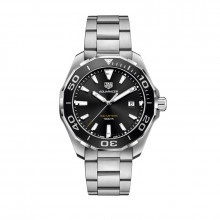 TAG Heuer Aquaracer Quartz Steel Watch - WAY101A.BA0746