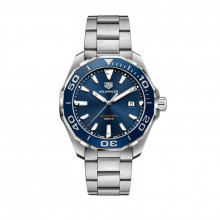 TAG Heuer Aquaracer Quartz Steel Watch - WAY101C.BA0746