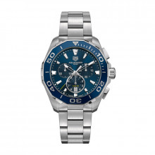 TAG Heuer Aquaracer Quartz Steel Watch - CAY111B.BA0927